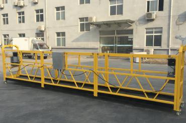 güçlü 6 metre halat kiriş çıkıntısı ile gondol platformu askıya