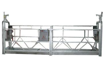 hareketli güvenlik halatı askıya alınmış platform zlp500 nominal kapasiteye sahip 500kg