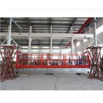 Kaldırma ltd8.0 ile 10 metre alüminyum alaşım askıya çalışma platformu