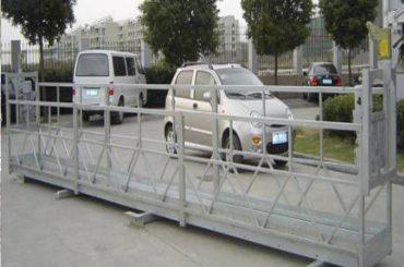Zlp630 halat platform / elektrikli salıncak sahne / iskele pencere temizleme makinesi için askıya