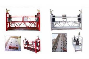 asma askıya asılı platform, zlp630 inşaat asansör gondol makinesi