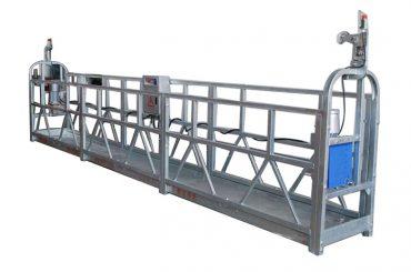 elektrikli vinç tel halat gondol zlp500 sprey boya askıya platformu