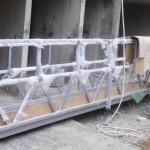 boyama için yüksek güvenlik halatı askıya alınmış platform kaldırma yüksekliği 300m